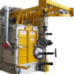 Máquina granalladora de gancho