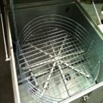 lavadora de cesta para piezas