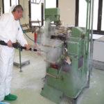 máquina de limpieza por vapor seco
