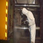 generador de vapor saturado limpieza por vapor seco