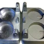 acero tratado con corindón blanco (óxido de aluminio)