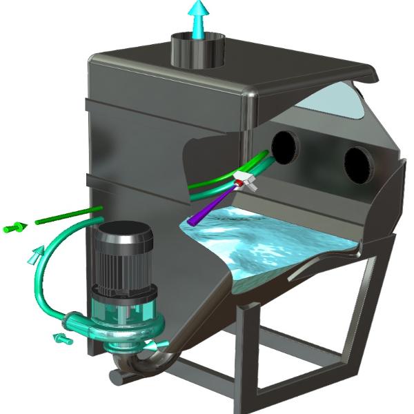 Image result for Wet Blasting Machine