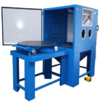 Suction blasting machines image. SB and SBF series