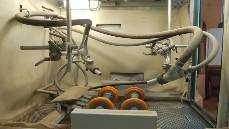 Imagen de equipos especiales y automáticos de chorrear