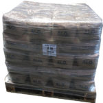 Image of brown corundum pallet (aluminium oxide)