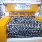 Granalladora de cinta metálica automática