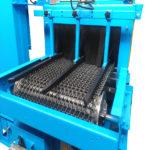 Granalladora de cinta metálica de túnel