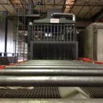 Granallar en túnel de granallado